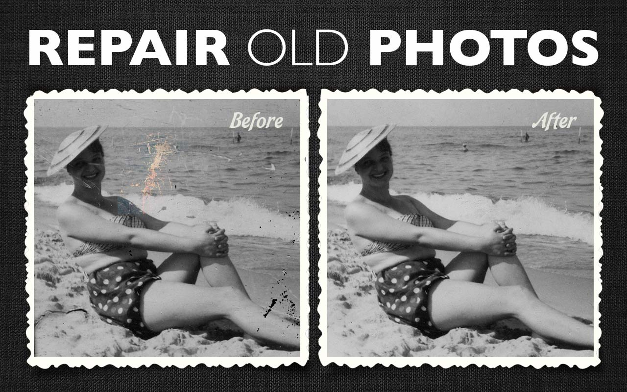 Repair old photo